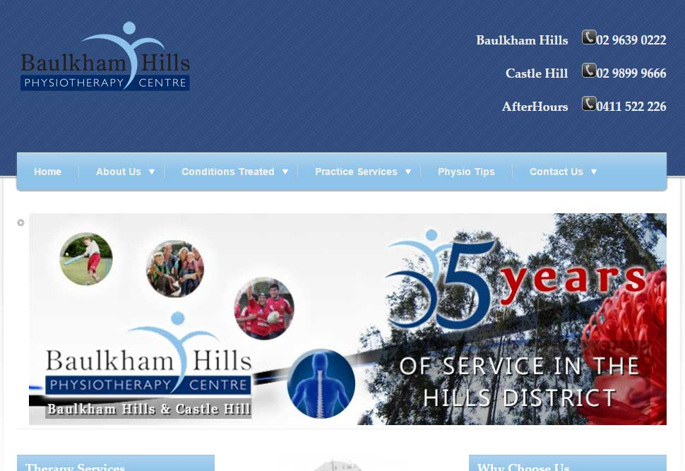Baulkham Hills Physiotherapy